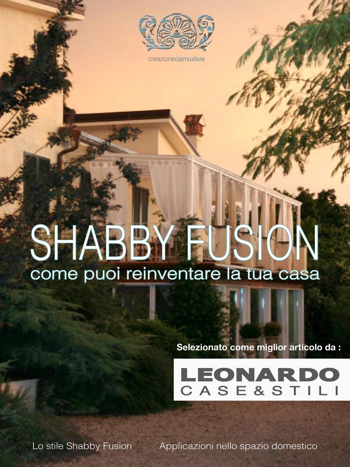 SHABBY FUSION copertina logo leonardo